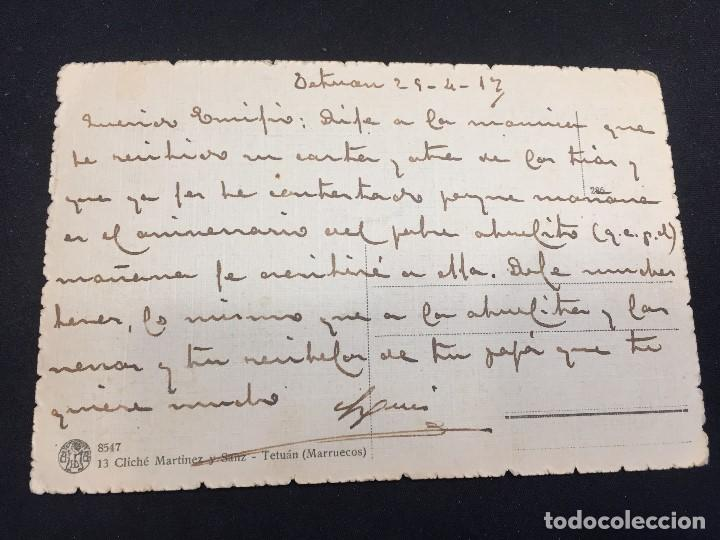 Postales: POSTAL TETUAN ZOCO DEL TRIGO 13 CLICHE MARTINEZ Y SANZ 1912 INSCRITA NO CIRCULADA MARRUECOS - Foto 2 - 196818815