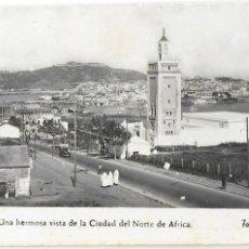 Postales: P-10162. POSTAL CEUTA, VISTA DE LA CIUDAD, FOTO RUBIO Nº13.. Lote 196867071