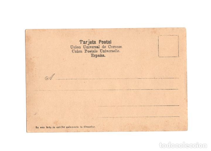 Postales: CEUTA.- S.M. EL REY AL DESEMBARCAR EN EL MUELLE DEL COMERCIO EL 3 DE MAYO 1904. - Foto 2 - 197905588