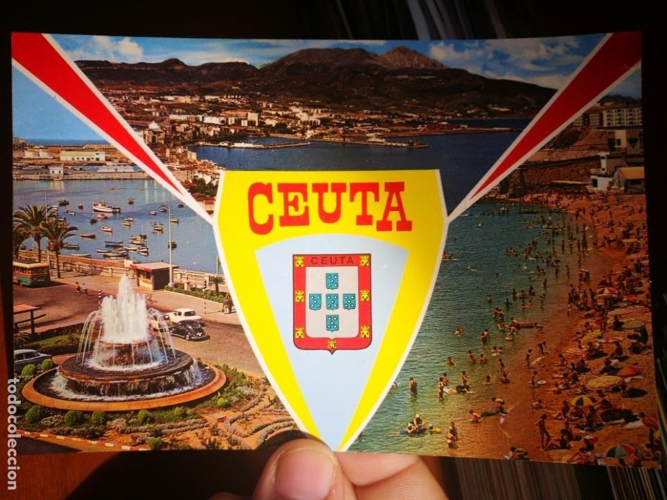 POSTAL CEUTA BELLEZAS DE LA CIUDAD N 61 LUIS CABELLO GARCÍA 1978 ESCRITA (Postales - España - Ceuta Moderna (desde 1940))
