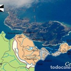 Postales: POSTAL MAPA CEUTA CITY MAP NEW POSTCARD. Lote 220952628