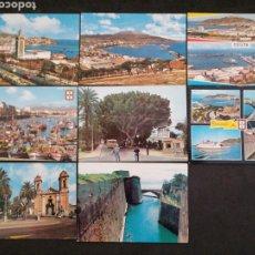 Postales: CEUTA, LOTE DE 6 POSTALES. Lote 199633270