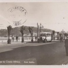 Postales: POSTAL CEUTA - CALLE - A STREET SCENE IN CEUTA - AFRICA - FOTO RUBIO. Lote 199705793