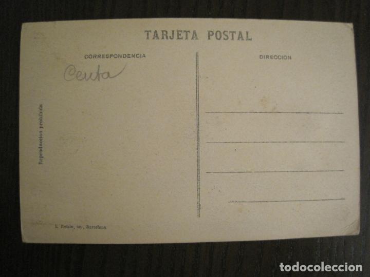 Postales: CEUTA-ARCHIVO ROISIN-FOTO PEGADA-FOTOGRAFICA-POSTAL PROTOTIPO ANTIGUA-(68.940) - Foto 4 - 201504378
