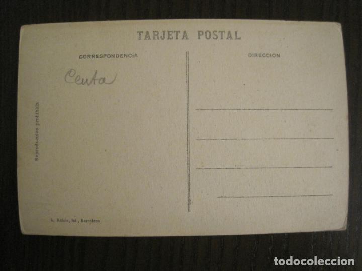 Postales: CEUTA-ARCHIVO ROISIN-FOTO PEGADA-FOTOGRAFICA-POSTAL PROTOTIPO ANTIGUA-(68.941) - Foto 4 - 201504396