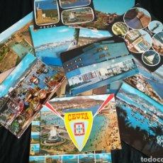 Postales: LOTE DE POSTALES DE CEUTA .. Lote 201536637