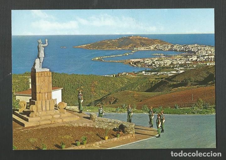 POSTAL SIN CIRCULAR - CEUTA 23 VISTA DESDE EL ACUARTELAMIENTO (LA LEGION) - EDITA GARCIA GARRABELLA (Postales - España - Ceuta Antigua (hasta 1939))