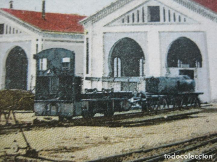 Postales: CEUTA-ESTACION DEL FERROCARRIL A TETUAN-POSTAL ANTIGUA-(70.869) - Foto 4 - 206268495