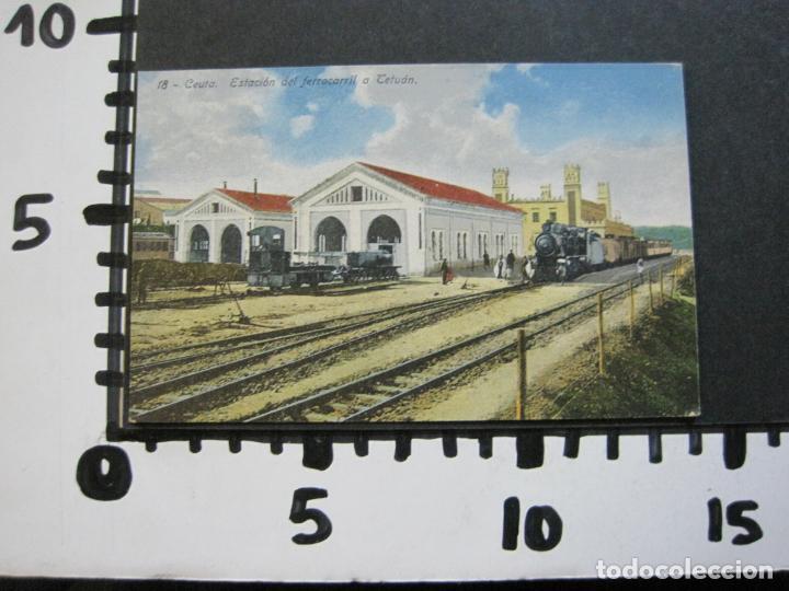 Postales: CEUTA-ESTACION DEL FERROCARRIL A TETUAN-POSTAL ANTIGUA-(70.869) - Foto 6 - 206268495