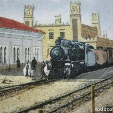 Postales: CEUTA-ESTACION DEL FERROCARRIL A TETUAN-POSTAL ANTIGUA-(70.869). Lote 206268495