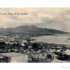 Postales: CEUTA.- VISTA DE LA CIUDAD.. Lote 206813335
