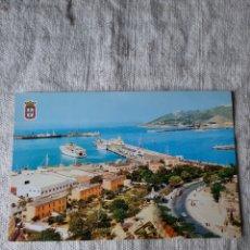 Postales: CEUTA PUERTO BARCOS 1964. Lote 206954132