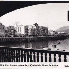 Postales: CEUTA VISTA DE LA CIUDAD DEL NORTE DE AFRICA. ED. FOTO RUBIO Nº 9. CIRCULADA. Lote 207210521