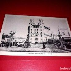 """Postales: CEUTA """" ENTRADA """" ESCRITA Y SELLADA CON SELLO REPUBLICA 1932. Lote 207705576"""