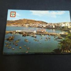 Cartes Postales: TARJETA POSTAL. CEUTA. PUERTO Y MONTE HACHO. 45. LUIS CABELLO GARCIA. Lote 210193358