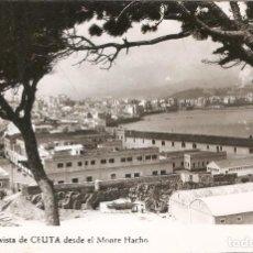 Postales: CEUTA Nº 52 VISTA DESDE EL MONTE HACHO RUBIO SIN CIRC.. Lote 210845317