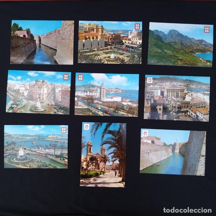 14 POSTALES CEUTA AÑOS 60-70 (P160) (Postales - España - Ceuta Moderna (desde 1940))