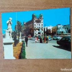 Postales: CEUTA - PLAZA DEL TENIENTE GENERAL GALERA - AÑO 1976 - CIRCULADA. Lote 213914807