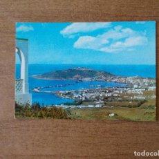 Postales: CEUTA PANORÁMICA DESDE EL MIRADOR GARCÍA ALDAVE - AÑOS 50. Lote 213915051