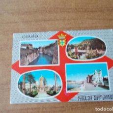 Postales: POSTAL DE CEUTA - VARIAS VISTAS - AÑO 1.964. Lote 214048276