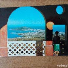 Postales: CEUTA - MIRADOR DE GARCÍA ALDAVE - 1965 - CIRCULADA SIN FRANQUEO. Lote 214048490