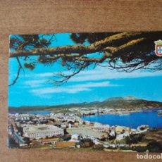 Postales: CEUTA - VISTA GENERAL - AÑO 1.966 -CIRCULADA SIN FRANQUEO. Lote 214049458