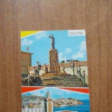 Postales: CEUTA - CUARTEL GARCIA ALDAVE DE LA LEGIÓN -. Lote 214050698