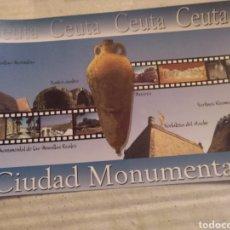 Postales: COLECCIÓN CEUTA ESTÁ DE MODA. POSTAL 3 CIUDAD MONUMENTAL. SIN CIRCULAR. Lote 214147587