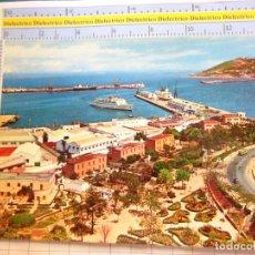 Cartes Postales: POSTAL DE CEUTA AÑO 1967. VISTA PARCIAL. PUBLICIDAD PESCA PERLAS BORRÁS. FERIA SEVILLA 1970. 2409. Lote 215675111
