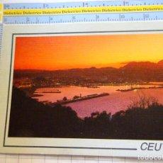 Cartes Postales: POSTAL DE CEUTA AÑO 1994. ATARDECER. 17 CÁZAR. 2412. Lote 215675336