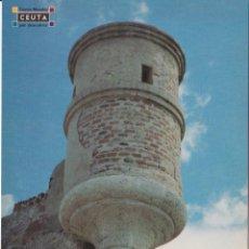 Cartes Postales: CEUTA, BALUARTE DE LA FORTALEZA DEL HACHO - EDITA CONSEJERIA DE TURISMO - S/C. Lote 217768947