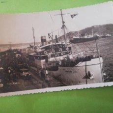 Postales: FOTO POSTAL BARCO CIUDAD DE CEUTA 1945. Lote 219298487