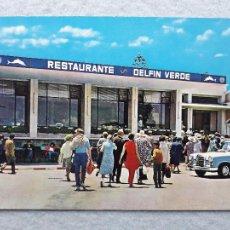 Cartes Postales: CEUTA. RESTAURANTE EL DELFÍN VERDE.. Lote 219420782