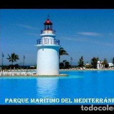 Postales: POSTAL CEUTA FARO PARQUE MARITIMO DEL MEDITERRANEO S/C. Lote 220953352