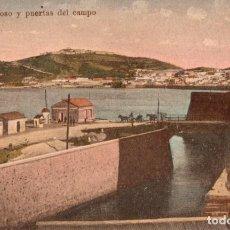 Postales: CEUTA. EL FOSO Y PUERTAS DEL CAMPO. Lote 221501950