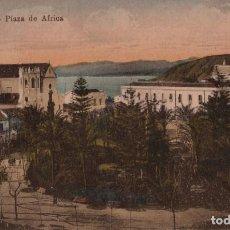 Postales: CEUTA. PLAZA DE AFRICA. Lote 221502383