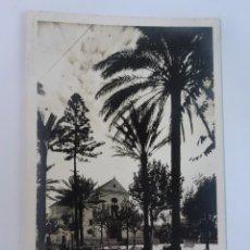 Cartes Postales: ANTIGUA POSTAL FOTOGRÁFICA, CEUTA, PLAZA DE LA CONSTITUCIÓN Y CATEDRAL, VER FOTOS. Lote 222098305
