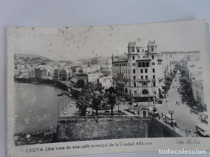 ANTIGUA POSTAL FOTOGRÁFICA, CEUTA, VISTA PARCIAL, VER FOTOS (Postales - España - Ceuta Moderna (desde 1940))