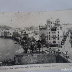Postales: ANTIGUA POSTAL FOTOGRÁFICA, CEUTA, VISTA PARCIAL, VER FOTOS. Lote 222098820