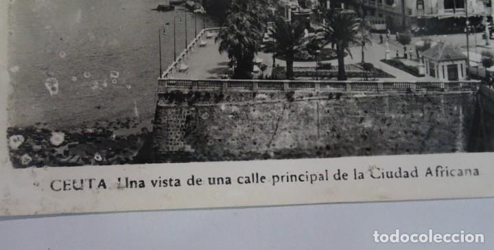 Postales: ANTIGUA POSTAL FOTOGRÁFICA, CEUTA, VISTA PARCIAL, VER FOTOS - Foto 2 - 222098820