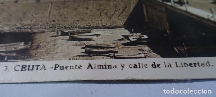 Postales: ANTIGUA POSTAL FOTOGRÁFICA, CEUTA, VISTA PARCIAL, L.ROISIN, VER FOTOS - Foto 2 - 222102822