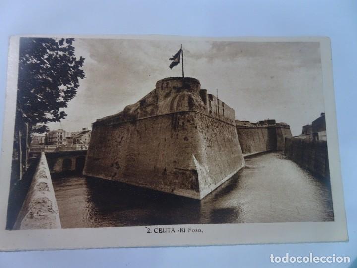 POSTAL FOTOGRÁFICA, CEUTA, EL FOSO, L.ROISIN, VER FOTOS (Postales - España - Ceuta Moderna (desde 1940))