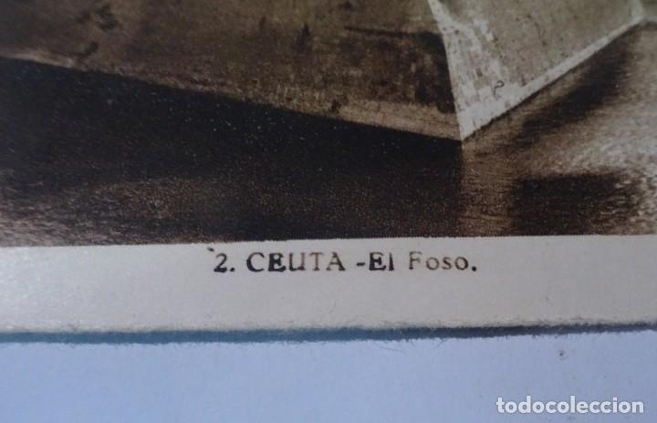 Postales: POSTAL FOTOGRÁFICA, CEUTA, EL FOSO, L.ROISIN, VER FOTOS - Foto 4 - 222103497