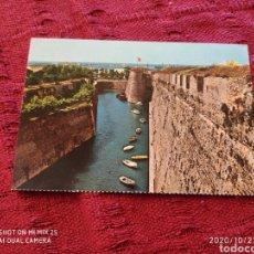 """Postales: POSTAL MURALLAS PORTUGUESAS """"FOSO DE S. FELIPE"""" (CEUTA) (ANTIGUA). Lote 222407116"""