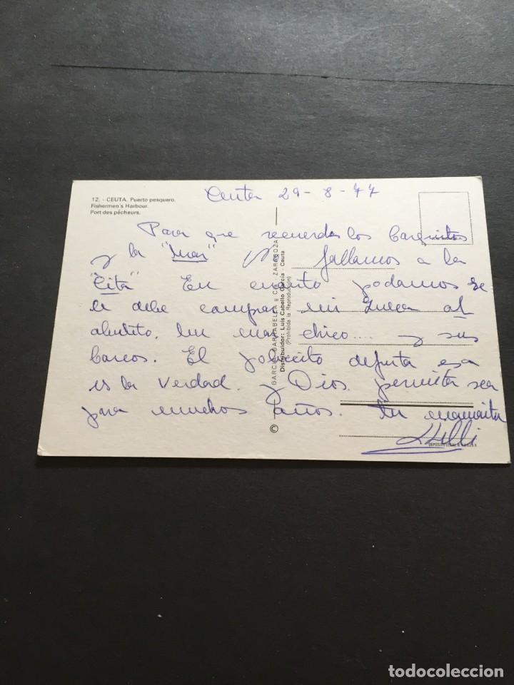 Postales: POSTAL DE CEUTA - PUERTO PESQUERO BONITAS VISTAS - LA DE LA FOTO VER TODAS MIS FOTOS Y POSTALES - Foto 2 - 222533420