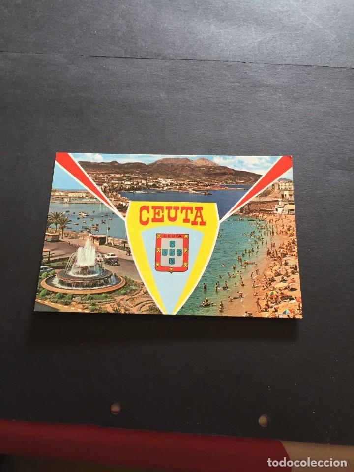 POSTAL DE CEUTA - BONITAS VISTAS - LA DE LA FOTO VER TODAS MIS FOTOS Y POSTALES (Postales - España - Ceuta Moderna (desde 1940))