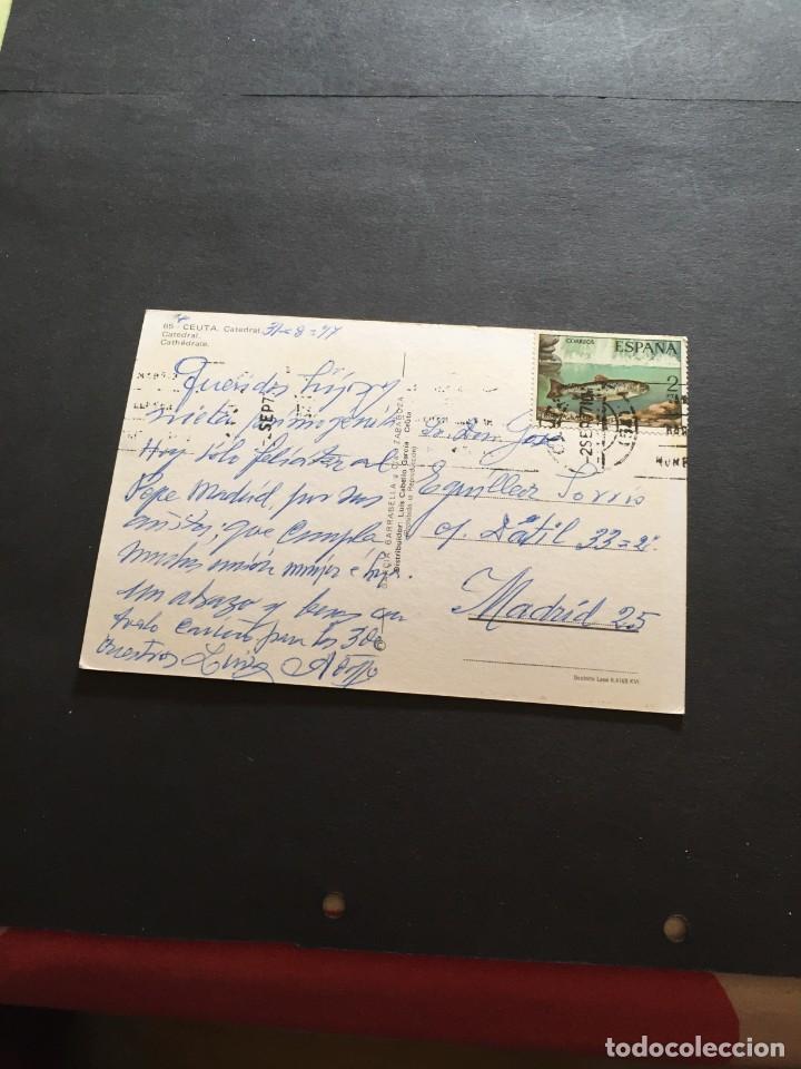 Postales: POSTAL DE CEUTA - CATEDRAL BONITAS VISTAS - LA DE LA FOTO VER TODAS MIS FOTOS Y POSTALES - Foto 2 - 222533758