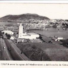 Postales: VISTA DE CEUTA. ED. FOTO RUBIO. ESCRITA. Lote 222604338