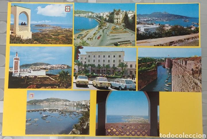 8 POSTALES DE CEUTA. AÑO 1975 (Postales - España - Ceuta Moderna (desde 1940))