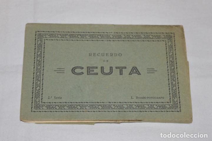 Postales: BLOC de 10 postales - CEUTA - Antiguas, buen estado, sin circular - ¡Mira fotos! - Foto 10 - 224379137